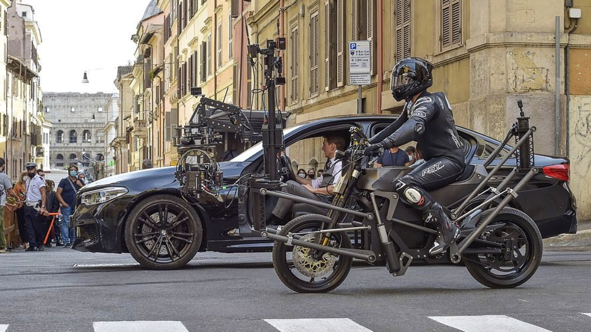 Mission: Impossible shooting